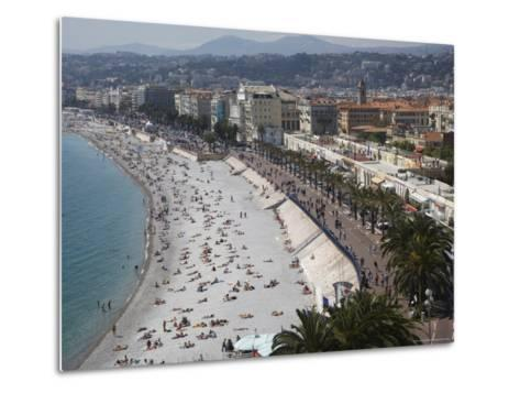 Nice, Alpes Maritimes, Provence, Cote d'Azur, French Riviera, France, Mediterranean-Angelo Cavalli-Metal Print