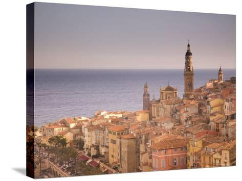 Menton, Alpes Maritimes, Provence, Cote d'Azur, French Riviera, France, Mediterranean-Angelo Cavalli-Stretched Canvas Print