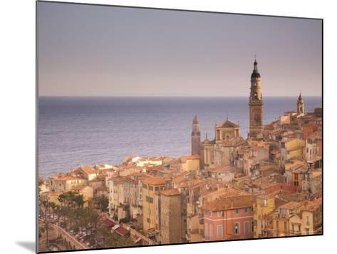 Menton, Alpes Maritimes, Provence, Cote d'Azur, French Riviera, France, Mediterranean-Angelo Cavalli-Mounted Photographic Print
