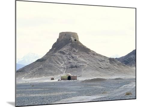 Zoroastrian Tower of Silence, Yazd, Iran, Middle East-Robert Harding-Mounted Photographic Print
