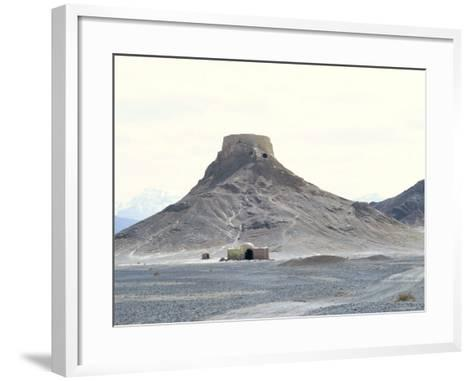 Zoroastrian Tower of Silence, Yazd, Iran, Middle East-Robert Harding-Framed Art Print