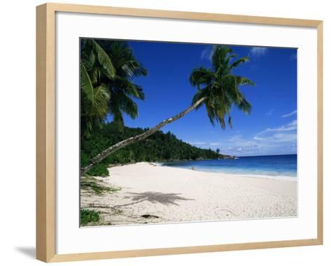 Anse Interdance, Mahe Island, Seychelles, Indian Ocean, Africa-Robert Harding-Framed Art Print