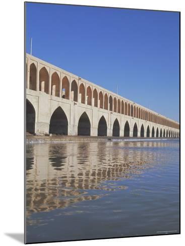 Allahverdi Khan Bridge River, Isfahan, Middle East-Robert Harding-Mounted Photographic Print