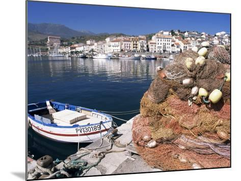 Fishing Nets, Port Vendres, Catalan Coast, Roussillon, France-Ken Gillham-Mounted Photographic Print