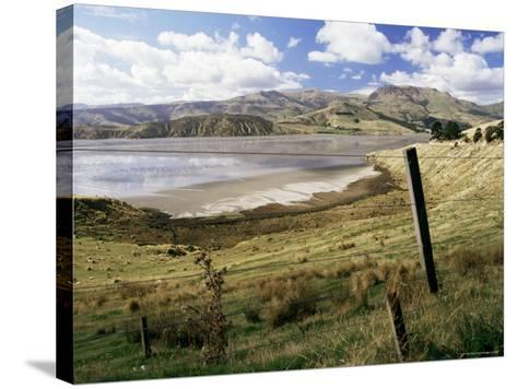 Banks Peninsula, South Island, New Zealand-Ken Gillham-Stretched Canvas Print