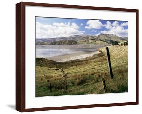 Banks Peninsula, South Island, New Zealand-Ken Gillham-Framed Art Print