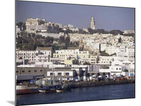 Harbour View to Old Town and Kasbah, Tangier, Morocco, North Africa, Africa-Ken Gillham-Mounted Photographic Print
