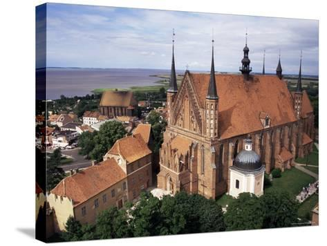 Cathedral Dating from the 14th Century, Frombork, Poland-Ken Gillham-Stretched Canvas Print