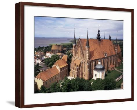 Cathedral Dating from the 14th Century, Frombork, Poland-Ken Gillham-Framed Art Print