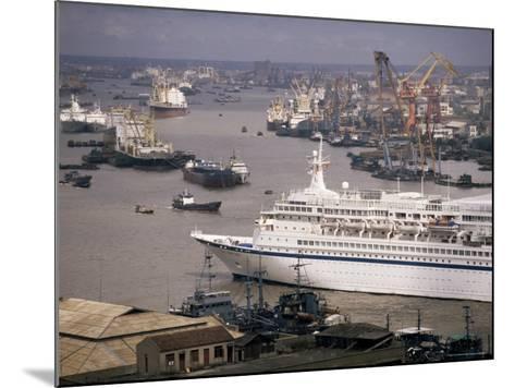 Shanghai Harbour, Shanghai, China-Ken Gillham-Mounted Photographic Print