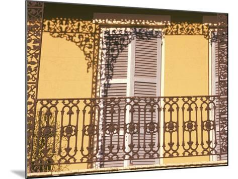 Iron Lace Balcony, New Orleans, Louisiana, USA-Ken Gillham-Mounted Photographic Print