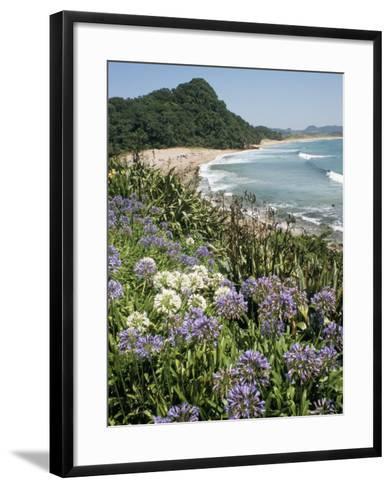 Hot Water Beach, Coromandel Peninsula, South Auckland, New Zealand-Ken Gillham-Framed Art Print