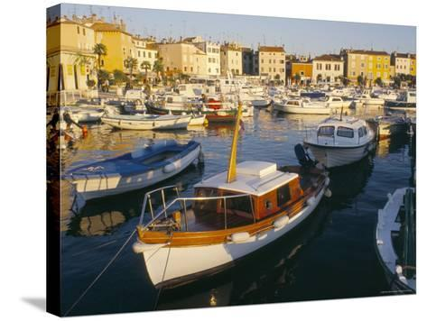 Harbour at Sunset, Rovinj, Istria, Croatia-Ken Gillham-Stretched Canvas Print