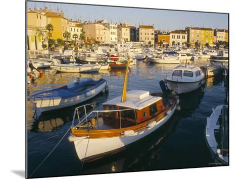 Harbour at Sunset, Rovinj, Istria, Croatia-Ken Gillham-Mounted Photographic Print