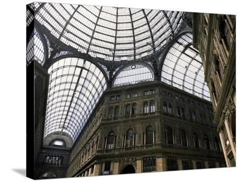 Galleria Umberto, Shopping Arcade, Naples, Campania, Italy-Ken Gillham-Stretched Canvas Print