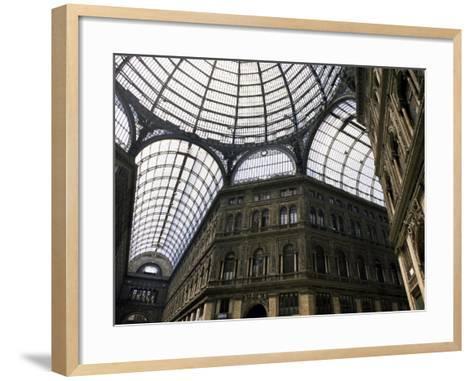 Galleria Umberto, Shopping Arcade, Naples, Campania, Italy-Ken Gillham-Framed Art Print