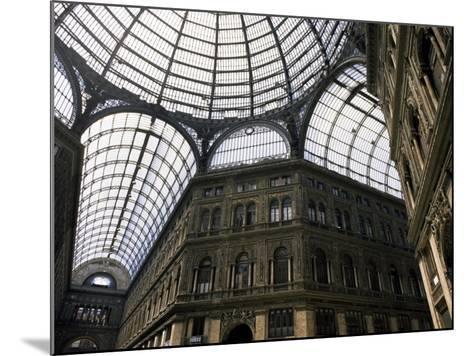Galleria Umberto, Shopping Arcade, Naples, Campania, Italy-Ken Gillham-Mounted Photographic Print