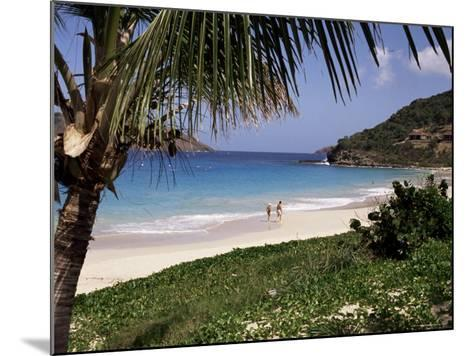 Beach at Anse Des Flamands, St. Barthelemy, West Indies, Central America-Ken Gillham-Mounted Photographic Print