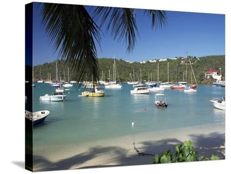 Admiralty Bay, Bequia, the Grenadines, Windward Islands, West Indies, Caribbean, Central America-Ken Gillham-Stretched Canvas Print