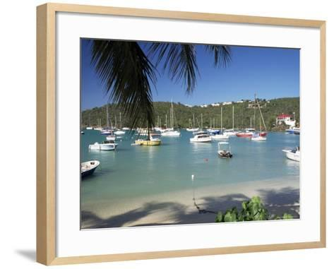 Admiralty Bay, Bequia, the Grenadines, Windward Islands, West Indies, Caribbean, Central America-Ken Gillham-Framed Art Print