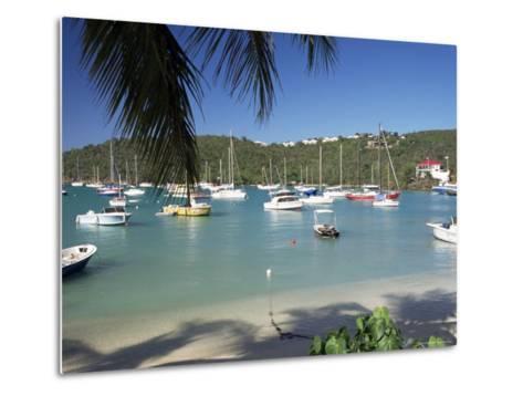 Admiralty Bay, Bequia, the Grenadines, Windward Islands, West Indies, Caribbean, Central America-Ken Gillham-Metal Print