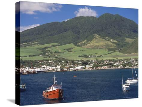View to Basseterre, St. Kitts, Leeward Islands, West Indies, Caribbean, Central America-Ken Gillham-Stretched Canvas Print