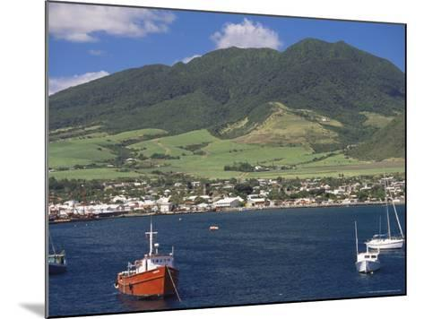 View to Basseterre, St. Kitts, Leeward Islands, West Indies, Caribbean, Central America-Ken Gillham-Mounted Photographic Print