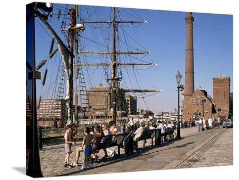 Front of the Maritime Museum, Liverpool, Merseyside, England, United Kingdom-Peter Scholey-Stretched Canvas Print