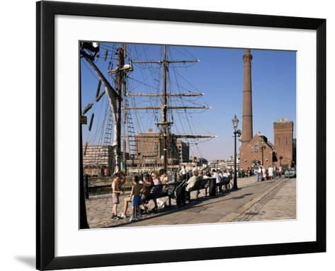 Front of the Maritime Museum, Liverpool, Merseyside, England, United Kingdom-Peter Scholey-Framed Art Print