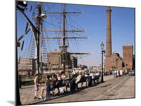 Front of the Maritime Museum, Liverpool, Merseyside, England, United Kingdom-Peter Scholey-Mounted Photographic Print