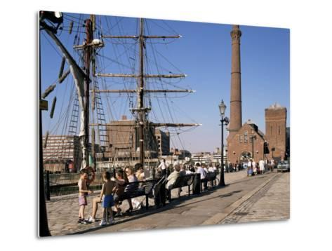 Front of the Maritime Museum, Liverpool, Merseyside, England, United Kingdom-Peter Scholey-Metal Print