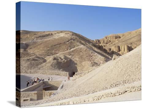 Tomb of Tutankhamen, Valley of the Kings, Unesco World Heritage Site, Thebes, Egypt-Peter Scholey-Stretched Canvas Print