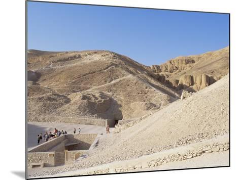 Tomb of Tutankhamen, Valley of the Kings, Unesco World Heritage Site, Thebes, Egypt-Peter Scholey-Mounted Photographic Print