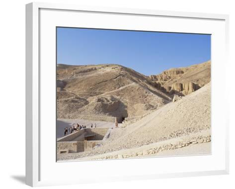 Tomb of Tutankhamen, Valley of the Kings, Unesco World Heritage Site, Thebes, Egypt-Peter Scholey-Framed Art Print