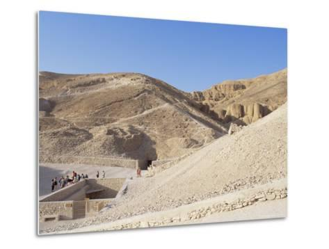 Tomb of Tutankhamen, Valley of the Kings, Unesco World Heritage Site, Thebes, Egypt-Peter Scholey-Metal Print