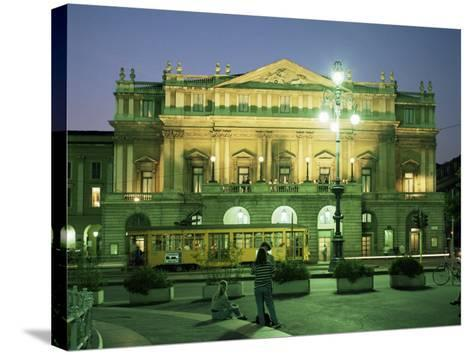 La Scala Opera House, Milan, Lombardia, Italy-Peter Scholey-Stretched Canvas Print