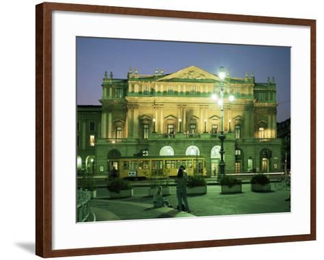 La Scala Opera House, Milan, Lombardia, Italy-Peter Scholey-Framed Art Print