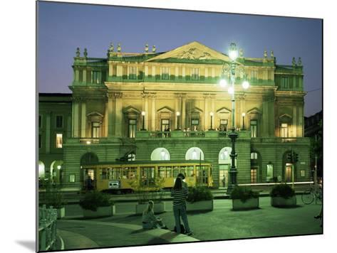 La Scala Opera House, Milan, Lombardia, Italy-Peter Scholey-Mounted Photographic Print