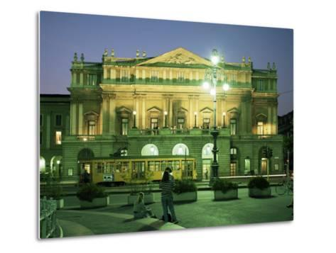La Scala Opera House, Milan, Lombardia, Italy-Peter Scholey-Metal Print
