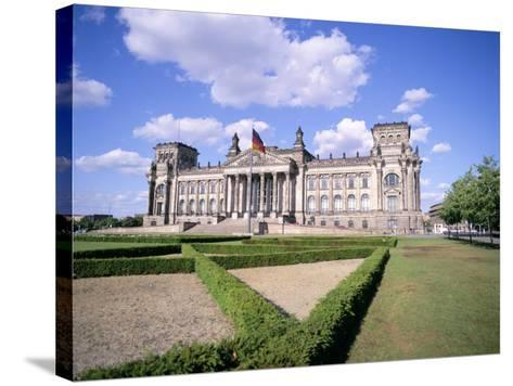 The Reichstag, Berlin, Germany-Peter Scholey-Stretched Canvas Print