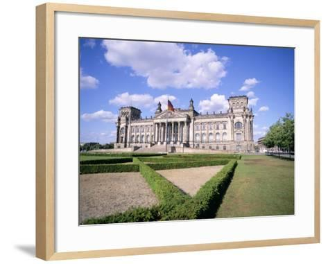 The Reichstag, Berlin, Germany-Peter Scholey-Framed Art Print