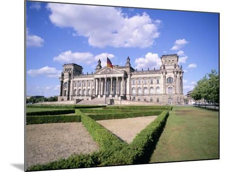 The Reichstag, Berlin, Germany-Peter Scholey-Mounted Photographic Print