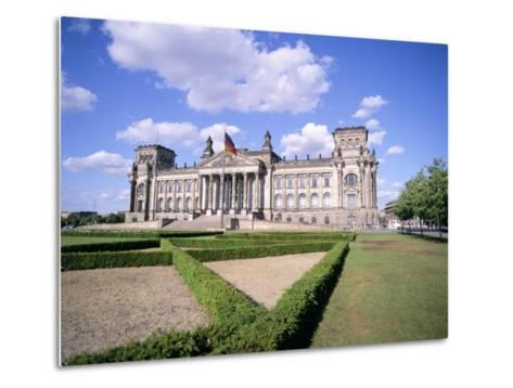 The Reichstag, Berlin, Germany-Peter Scholey-Metal Print