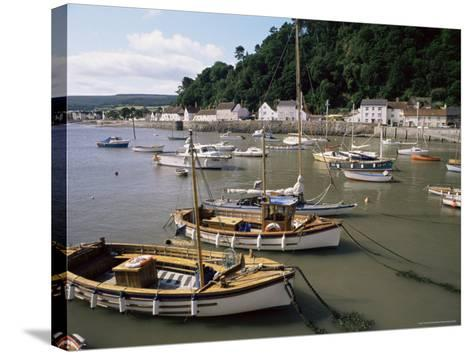 The Harbour, Minehead, Somerset, England, United Kingdom-Chris Nicholson-Stretched Canvas Print