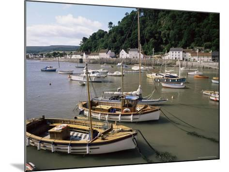The Harbour, Minehead, Somerset, England, United Kingdom-Chris Nicholson-Mounted Photographic Print
