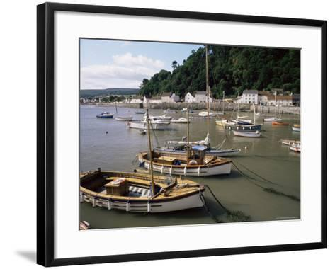 The Harbour, Minehead, Somerset, England, United Kingdom-Chris Nicholson-Framed Art Print