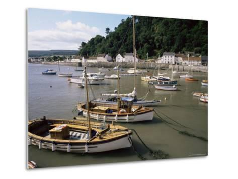 The Harbour, Minehead, Somerset, England, United Kingdom-Chris Nicholson-Metal Print