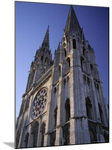The Exterior of the Christian Cathedral, Chartres, Eure Et Loir, Centre, France-Jonathan Hodson-Mounted Photographic Print