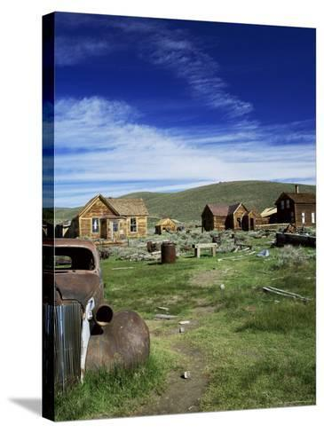 Bodie, Ghost Town, California, USA-Tony Gervis-Stretched Canvas Print
