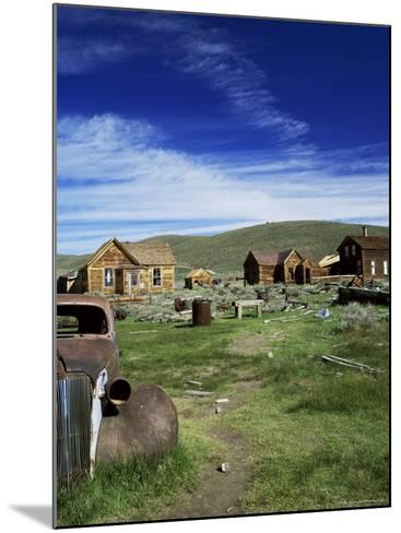 Bodie, Ghost Town, California, USA-Tony Gervis-Mounted Photographic Print